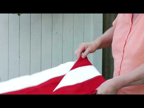 How To Handle Amp Fold The American Flag How To Fold A