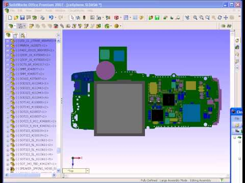Circuitworks - Exporting a SolidWorks Model into CircuitWorks avi