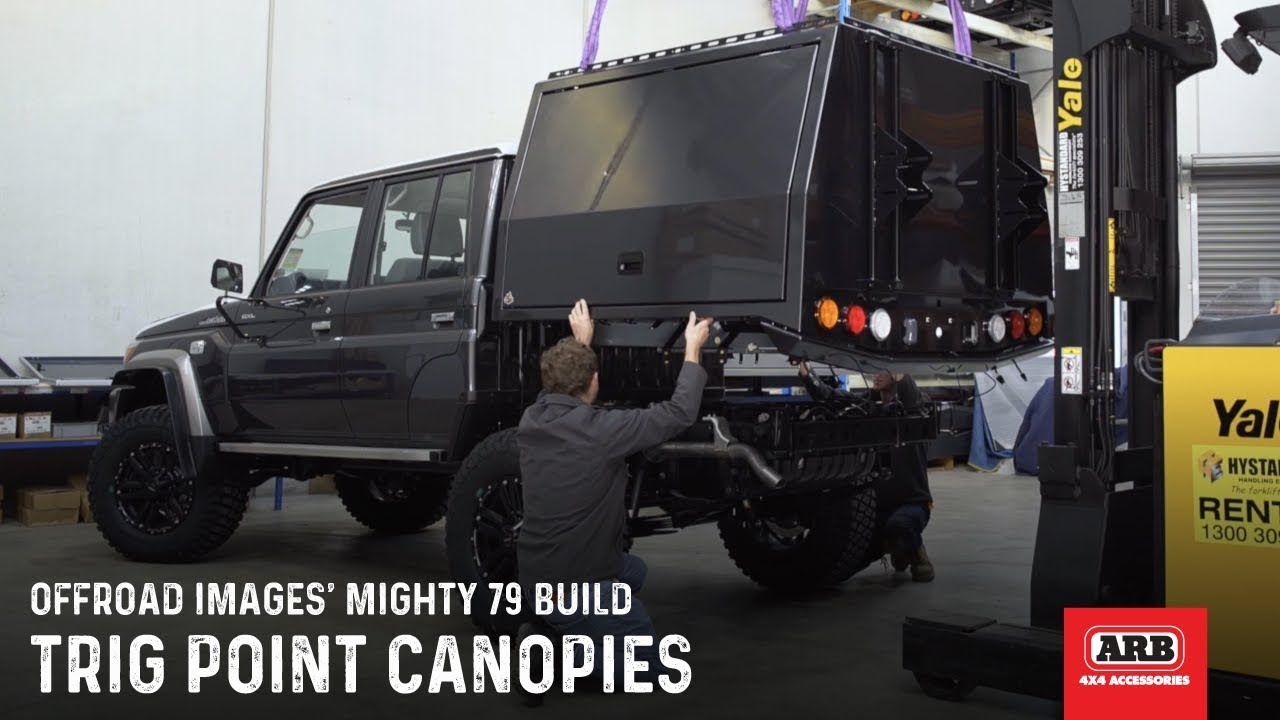 Trig Point Canopies | Offroad Imagesu0027 Mighty 79 Build & Trig Point Canopies | Offroad Imagesu0027 Mighty 79 Build - YouTube