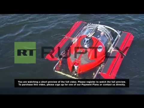 Russia: Deep sea no match for adventurous Putin