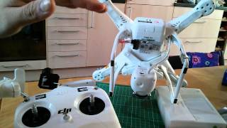 DJI Phantom 2: NAZA mode LED light signals - what's the difference?