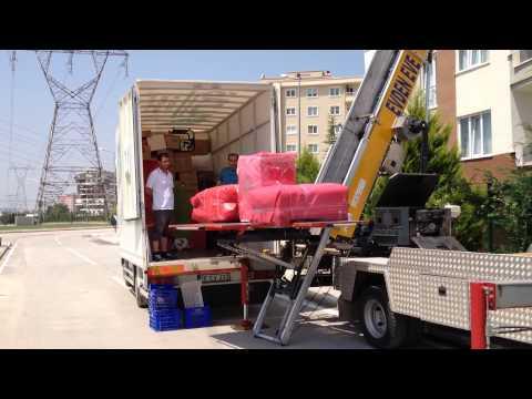 Bursa Evden Eve Nakliyat Asansörlü Taşımacılık