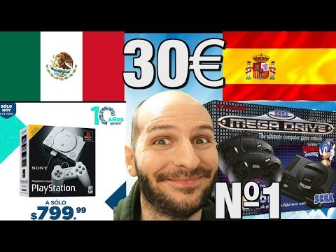 ¡MÉXICO ESCUPE EN PS CLASSIC Y ESPAÑA AMA MEGA DRIVE MINI! - Sasel - playstation - genesis - español thumbnail
