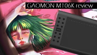 Graphic tablet GAOMON M106K – Review and speedpaint