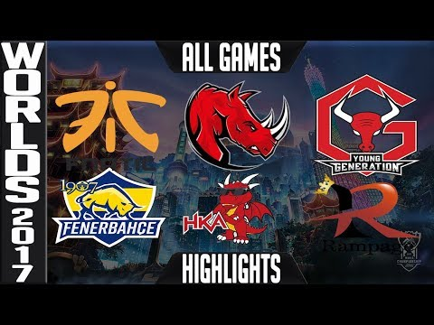 2017 Worlds Play in Stage Day 4 Highlights ALL GAMES Groups C/D - LoL World Championship 2017