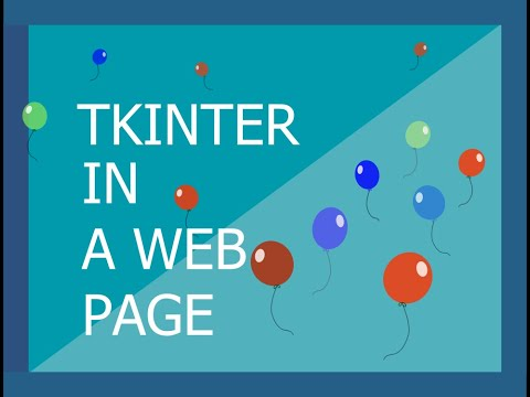 Use Tkinter And Python In The Browser With Repl.it