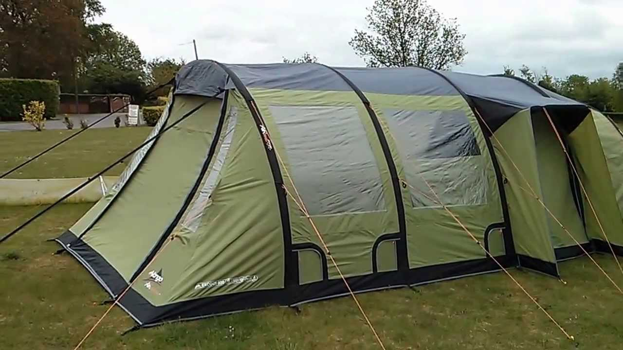 & Inflatable tent show at Cross Camping ltd - YouTube