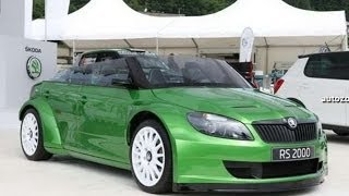 #148. Skoda fabia rs 2000 2011 (Prototype Car)