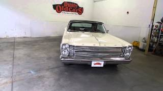 DustyOldCars.com 1966 Ford Galaxie Convertible White SN 941