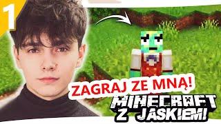 Minecraft z Jaśkiem #1 - DODAJĘ WIDZÓW NA SERWER  | JDABROWSKY