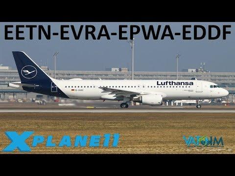 X-Plane 11 | BSS Sound Pack Giveaway & Developer Interview! | Back to Europe! | A320U | VATSIM