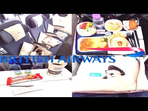 British Airways ECONOMY CLASS Dubai To London|Boeing 787-9
