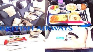 British Airways ECONOMY CLASS Dubai to London|Boeing 787-9