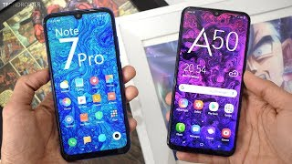 Samsung Galaxy A50 vs Redmi Note 7 Pro! Which Should You Buy?