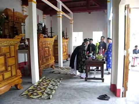 Lễ Cung Nghinh Ông Bà họ PHẠM VĂN làng Tô Đà về Nhà Thờ Phòng 3 (tt_1)