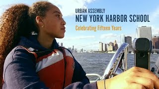 The Urban Assembly New York Harbor School 15th anniversary