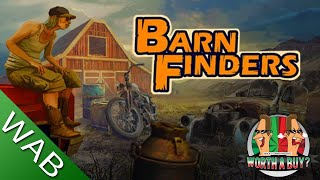 Barn Finders Review - Scavenge, repair, sell (Video Game Video Review)