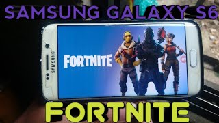 FORTNITE IN SAMSUNG GALAXY S6 APK DOWNLOAD FREE NOW