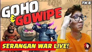 War Live GoWiPe & GoHo - Coc Indonesia