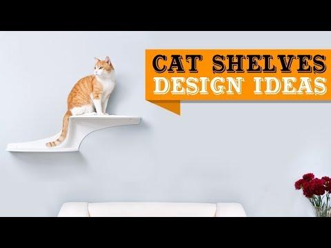 60+ Cat Shelves - Shelves for Cats Design Ideas