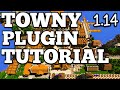 Towny Plugin Tutorial: Basic Commands!