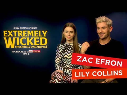 Zac Efron And Lily Collins Warn People About Dangers Of Dating And Say They Love Escape Rooms!