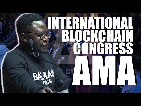 Ian Balina AMA At International Blockchain Congress In India