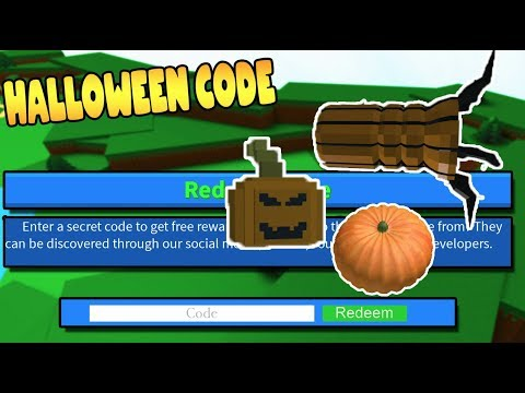 Boat Spawn Halloween 2020 Robloz NEW* HALLOWEEN CODE! BUILD A BOAT FOR TREASURE ROBLOX   YouTube
