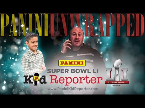 Trent Dilfer Surprises 7-Year-Old Panini Super Bowl Kid Reporter Winner