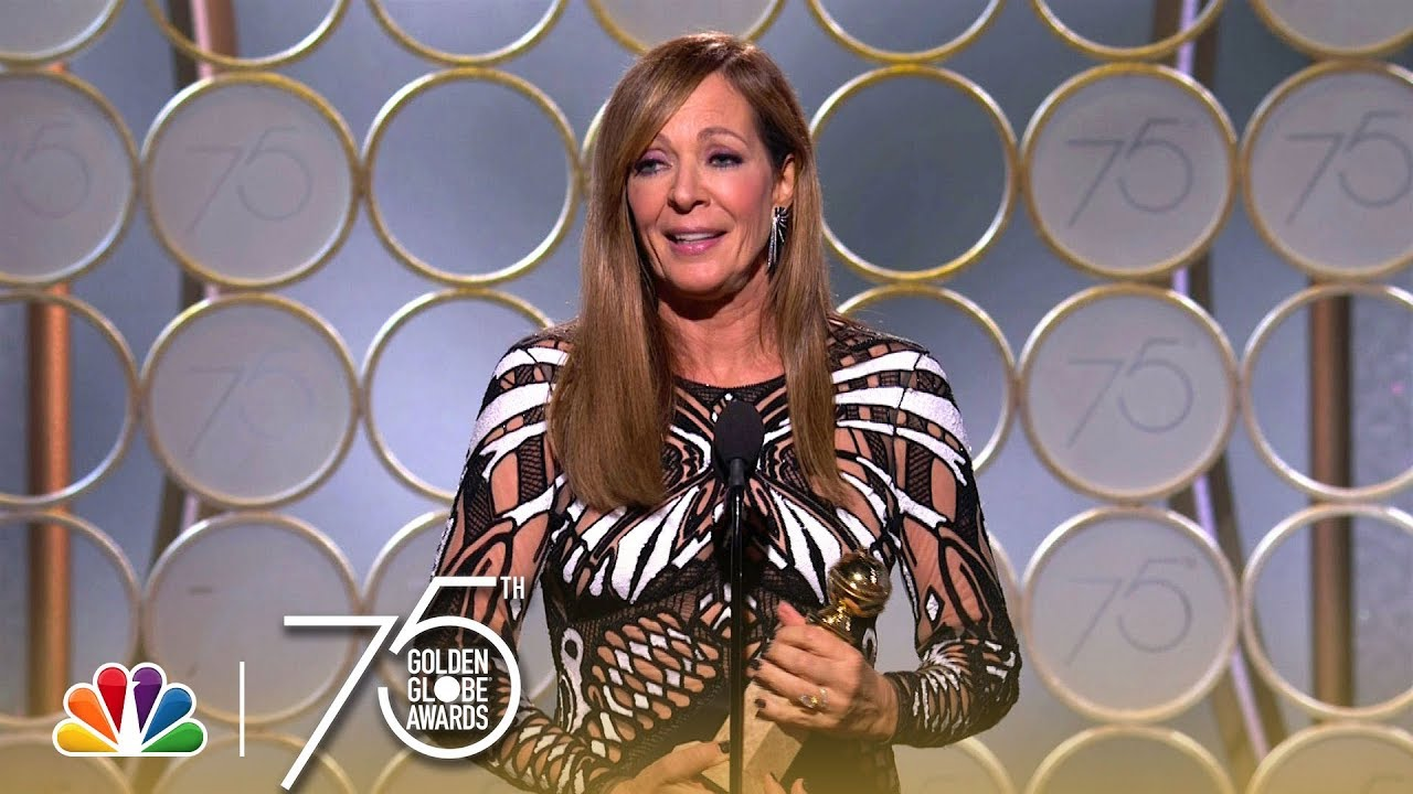Allison Janney Nudography allison janney wins best supporting actress at the 2018 golden globes