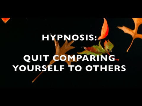 Hypnosis:  Build Confidence. Quit Comparing Yourself To Others (Sherree Etter, Hypnotist)