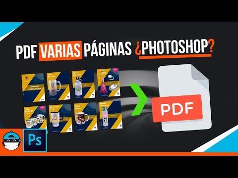 ⚠️Cómo GUARDAR PDF En Photoshop De VARIAS PÁGINAS [EL MÉTODO MÁS USADO]