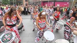 "Slavery Remembrance Day..."" a Batala Beat "" In Liverpool...(Part 2)"