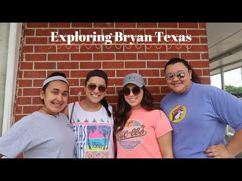 Exploring Bryan Texas!!!   AnalissaIvetteVlogs
