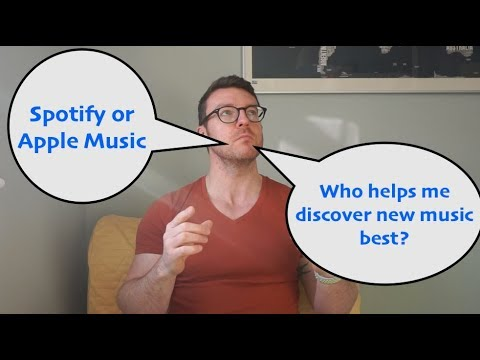 Spotify v Apple Music - best for music discovery?