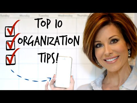 10 Painless Organization Tips For Busy Women