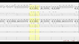 Five Finger Death Punch Tabs - Under And Over It