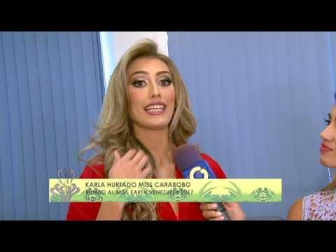 Más de la sesión de fotos de las candidatas del Miss Earth Venezuela 2017