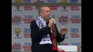 Başbakan Recep Tayyip Erdoğan Ak Parti Eskişehir Mitingi FULL KALİTE LOGOSUZ 07.03.2014 .