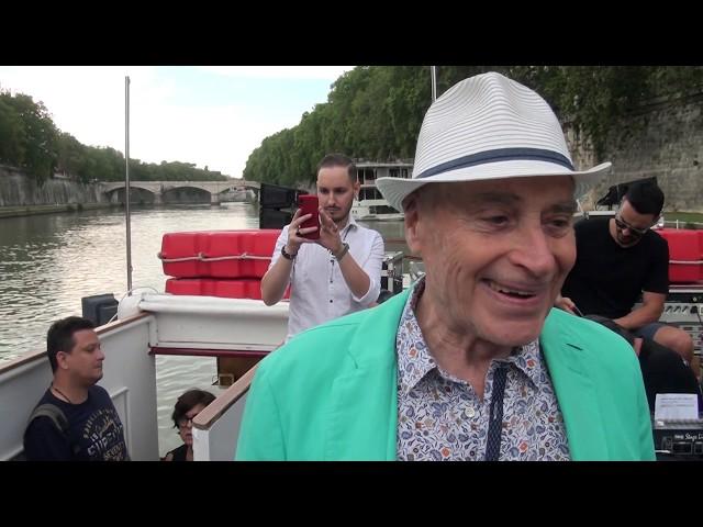 Edoardo Vianello 80 Anni - Concerto su Battello sul Tevere