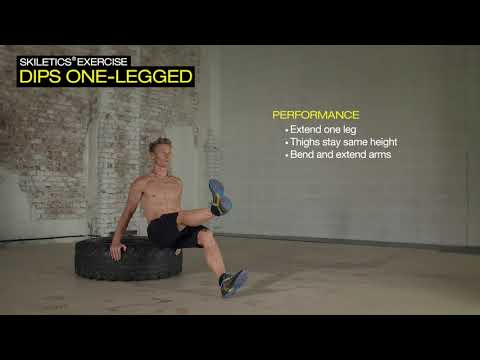 Fischer Nordic | Skiletics | Dips One-Legged