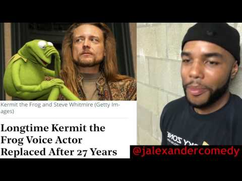 🙄 Kermit the frog 🐸 replaced!!!!