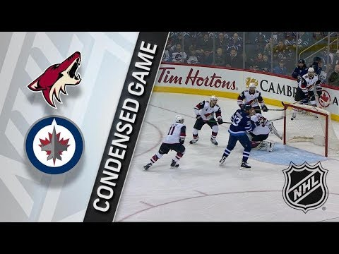 Arizona Coyotes vs Winnipeg Jets – Feb. 06, 2018 | Game Highlights | NHL 2017/18. Обзор матча