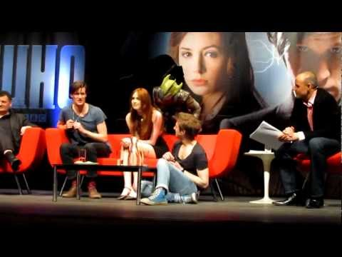 Karen Gillan ATTACKED on stage at Doctor Who Convention 2012