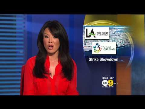 Sharon Tay 2012/12/03 KCAL9 HD