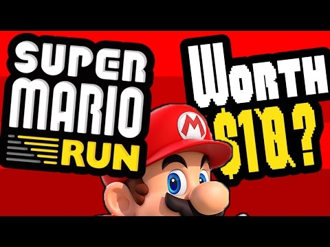 Super Mario Run Review   Is the $10 Worth It?