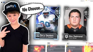 Letting My FANS Draft My Team... Madden 19 MUT Draft