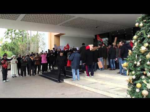Strike at Luxury Hotel in Rabat