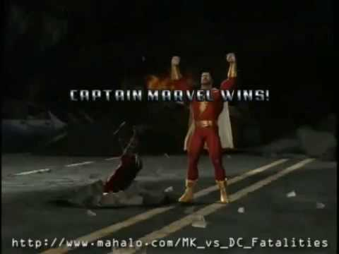 Mortal Kombat Vs DC Universe Finishing Moves