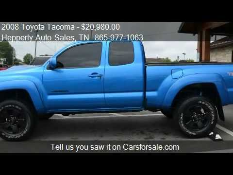 2008 Toyota Tacoma V6 4x4 4dr Access Cab 6.1 Ft. SB 5A For S